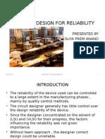 Design for Reliabiliy
