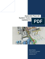 AutoCAD PLANT 3D 2015 System Tools Variables Cadgroup