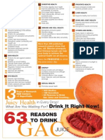63 Reasons to drink Gaç juice (g3 from Pharmanex-Nu Skin)