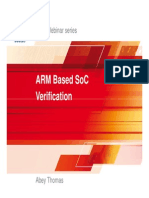 ARM Based SoC Verification v1