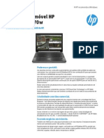 Workstation Móvel HP - EliteBook 8570w