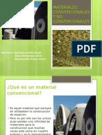 Materiales Convencionales y No Convencionales Final