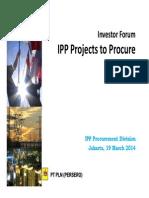 IPP Discussion Forum - Handouts 19 March 2014
