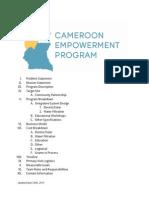 cameroonempowermentprogramreport
