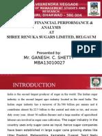 financial analysis and prformance