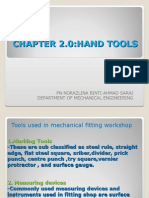 JJ104 Workshop Technology Chapter2 Hand Tools
