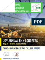20th EMN Congress 3rd Announcement