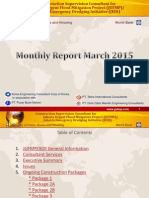 Laporan Bulan Maret JUFMP/JEDI 2015 (Monthly Report March 2015) - Power Point