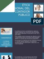 Ética Profesional Del Contador Público