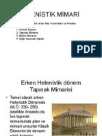3- Helenistik Mimari Ve Tapınaklar