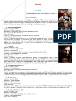 Selection Films XVIIe-XVIIIe Siecles