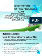JJ205 Workshop Technology Tic&Mic Welding
