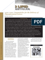 Solid Lipid Nanoparticles-DDT 9-09 Rd3
