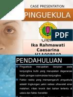 CASE Presentation- Pinguekula