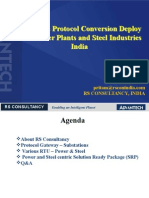 SCADA & Protocol Conversion at Power and Steel Industries -Final