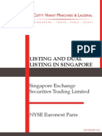 Listing in Singapore
