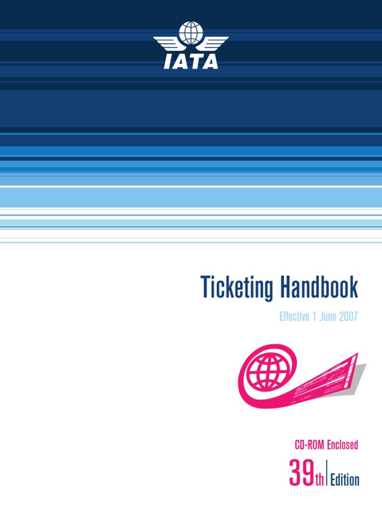 Ticketing handbook 39 2007 eng