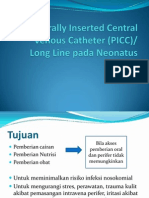 1.4 Peripherally Inserted Central Venous Catheter (PICC)