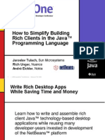 Java Netbeans - Desktop Application Architecture