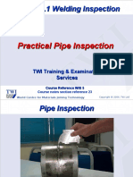 CSWIP 3.1 Practical Pipe Examples EBOOK