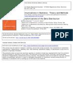 Communication in Statistics- Theory and Methods Volume 33 Issue 12 2004 [Doi 10.1081%2Fsta-200038859] Nadarajah, Saralees; Gupta, Arjun K. -- Characterizations of the Beta Distribution