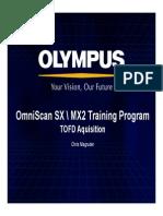 OmniSX MX2 Training 16D TOFD Acquisition
