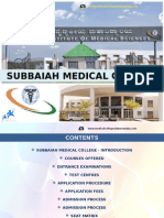 Subbaiah Medical College