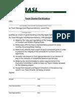 Basl Team Charter