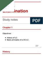 CDCS Study Notes