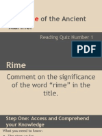 rime of the ancient mariner quiz 1
