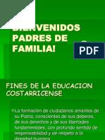 Bienvenidos Padres de Familia!