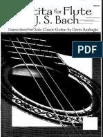 Bach - Partita, BWV 1013, Arr D Azabagic