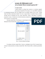 6_Lucru Cu Fontul. Efecte Textuale _II