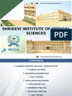 Shridevi Institute of Medical Sciences
