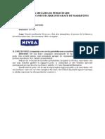 FIŞA DE ANALIZĂ A MESAJELOR PUBLICITARE DIN PERSPECTIVA COMUNICĂRII INTEGRATE DE MARKETING