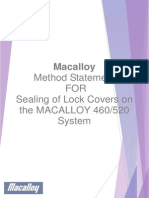 Lock Cover Sealing Method Statement Rev 1