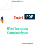 EFFECT OF NOISE IN ANALOG COMMUNICATION SYSTEMS