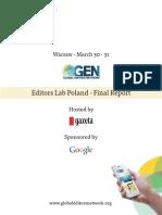 Gazeta Wyborcza Editors Lab