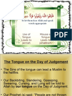 Use of Tongue Presentation
