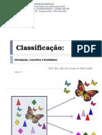 Aula 1 - Classificação - Conceito