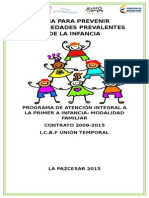 Prevencion de Enfermedades Prevalentes