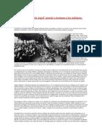 Cómo la batalla de Argel enseñó a torturar a los militares argentinos