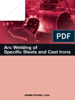 Arc Welding of Specific Steel and Cast Irons 5Ed