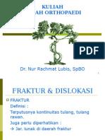 Kuliah Bedah Orthopaedic