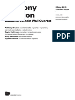 20150425 | Programa de Sala Anthony Braxton | Diamond Curtain Wall Quartet
