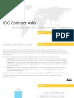 IDG Connect Buyer Behaviour Regional Research - Benelux