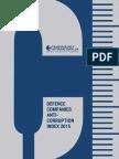 2015 Military Contractors Anti-Corruption Index