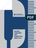 2015 Military Contractors Anti-Corruption Index