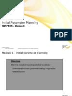 3G Parameter Initial Parameter Planning 06