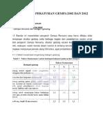 Perbedaan Peraturan Gempa 2002 Dan 2012